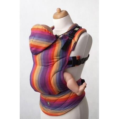 Porte bébé Préformé Baby - Sunset Rainbow - 60% coton / 40% bambou