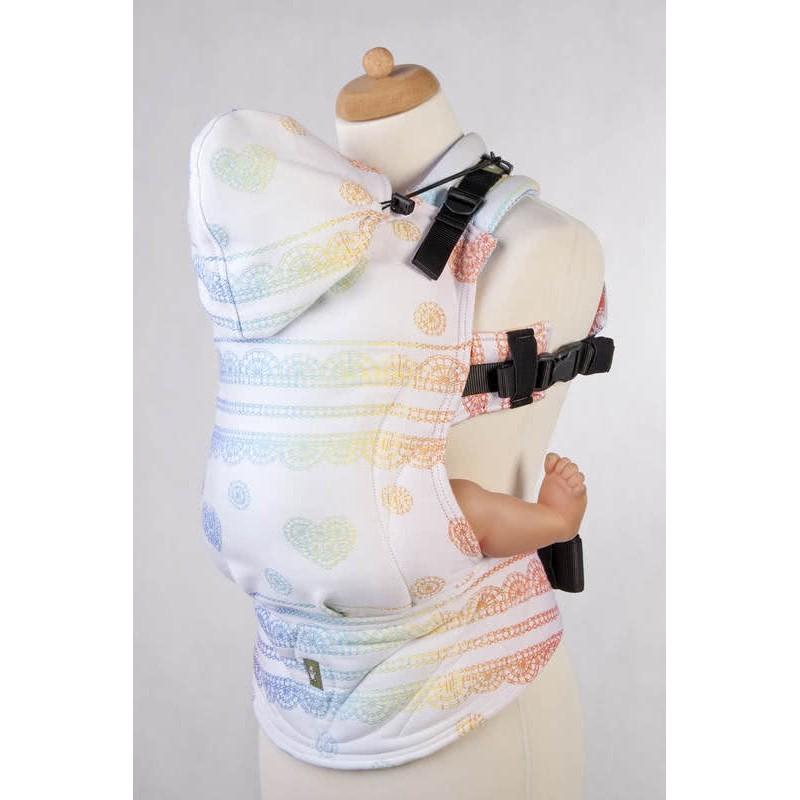 Porte bébé Préformé Toddler - Rainbow Lace Reverse - Lennylamb - A partir de 18 mois