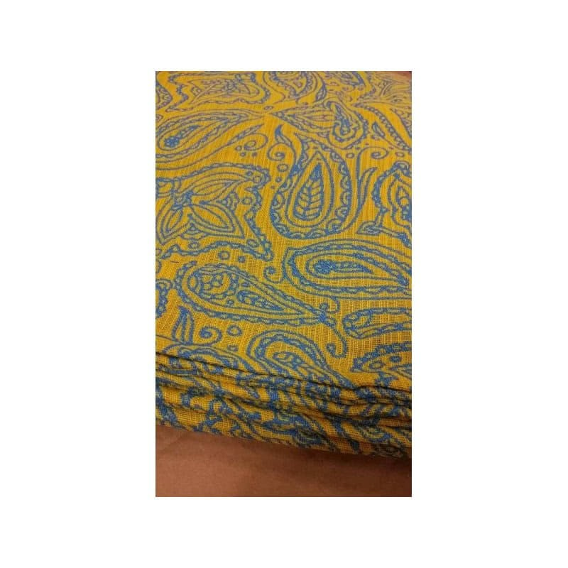 Sling Yaro - Lace Contra Yellow Blue Flame - 100% coton
