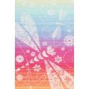 Echarpe Lennylamb - Dragonfly Rainbow (100% coton)