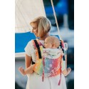 Onbuhimo Lennylamb - taille Toddler - Dragonfly Rainbow Light