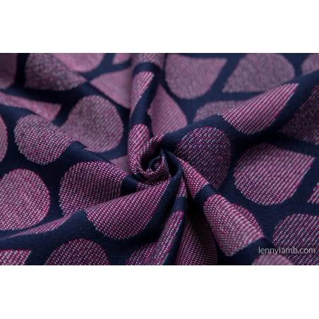 Porte poupon - Zig Zag Turquoise and Pink - Lennylamb