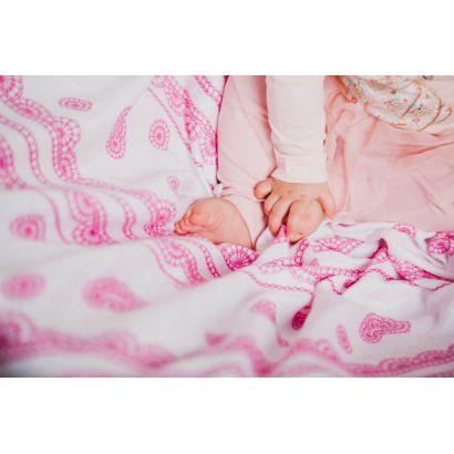 Lange bébé - Iced Lace Pink & White - Lennylamb - 7