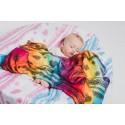 Pack de 2 Langes bébé - Rainbow Lace Dark et Iced Lace Turquoise & White- Lennylamb