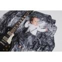 Pack de 2 Langes bébé - Dragonfly Rainbow et Symphony Black & White- Lennylamb