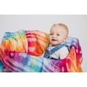 Pack de 2 Langes bébé - Rainbow Lace et Iced Lace Pink & White - Lennylamb
