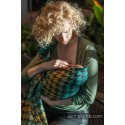 Sling Lennylamb Jacquard - Pepitka Green & Yellow - 100% coton