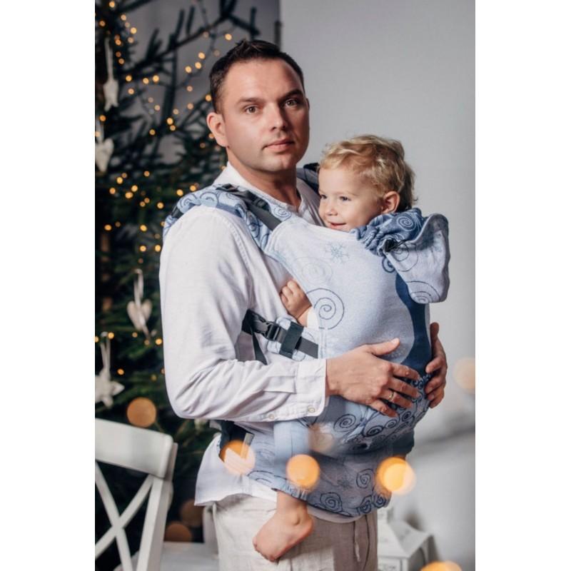 Porte bébé Préformé Lennylamb - Sunset Rainbow - Toddler - 60% coton - 40% bambou