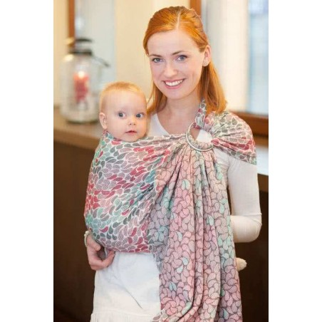 Sling Lennylamb Jacquard - Colors of Friendship - 100% coton