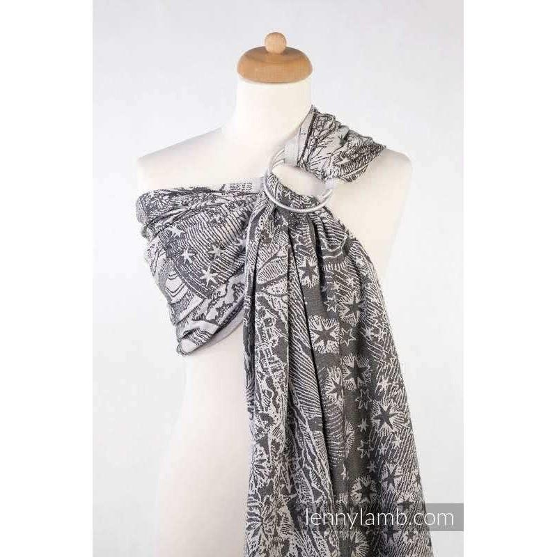 Sling Lennylamb Jacquard - Horizon's Verge Black & Cream - 100% coton