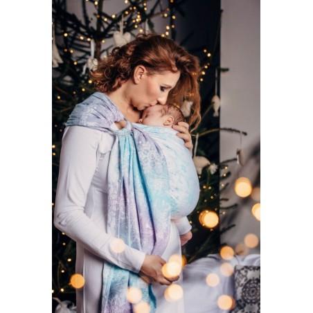 Sling Lennylamb - Glittering Snow Queen - Coton/Fil métallisé