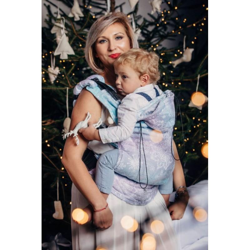 Porte bébé Préformé Toddler - Glittering Snow Queen - Lennylamb - A partir de 18 mois