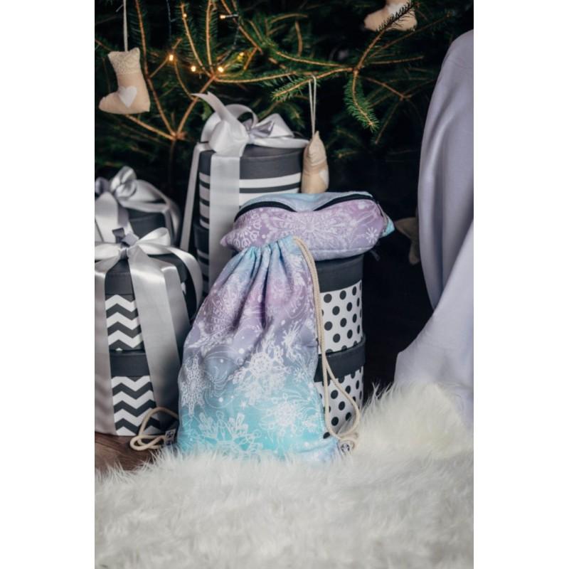 Sac à lanières Lennylamb - Glittering Snow Queen - 100% coton - 35cm x 45cm
