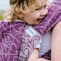 Mei Tai FlyTai Toddler - Amors Love Arrows - raisin - Fidella