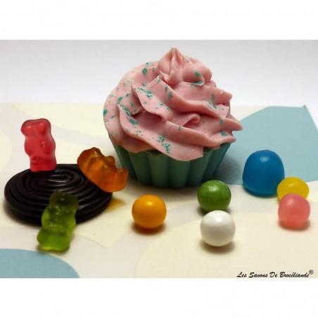 Savon Cupcake - Parfum d'enfance - Les Savons de Brocéliande