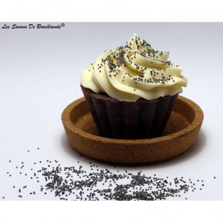 Savon Cupcake - Belle des champs - Les Savons de Brocéliande