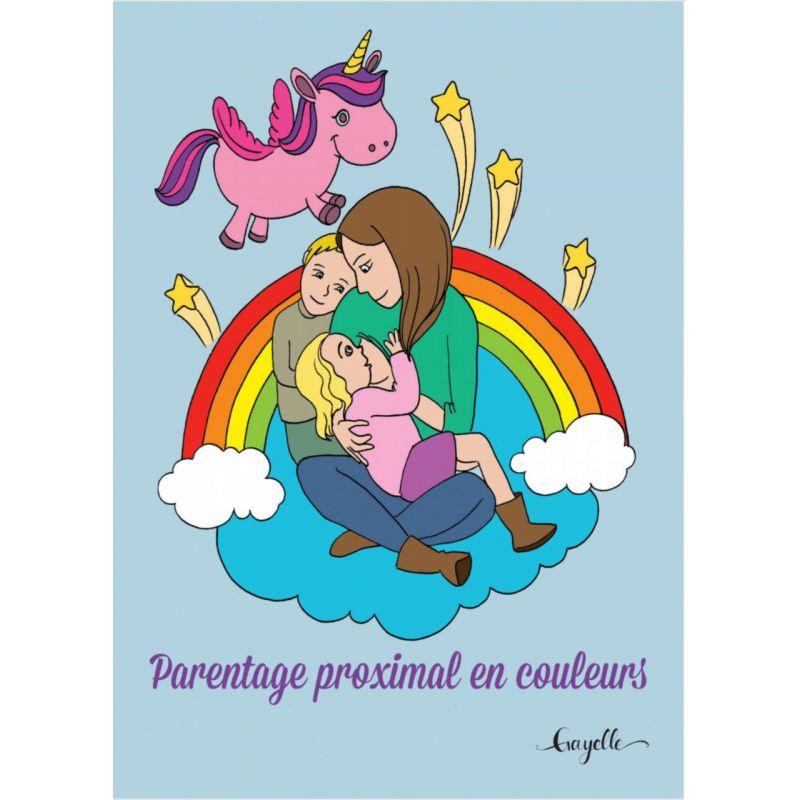 Livre de coloriage - Parentage proximal en couleurs - Gayelle