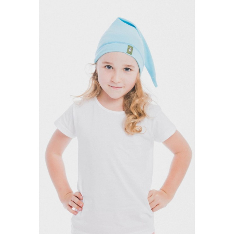Bonnet de lutin en coton - Coloris Azure - Lennylamb