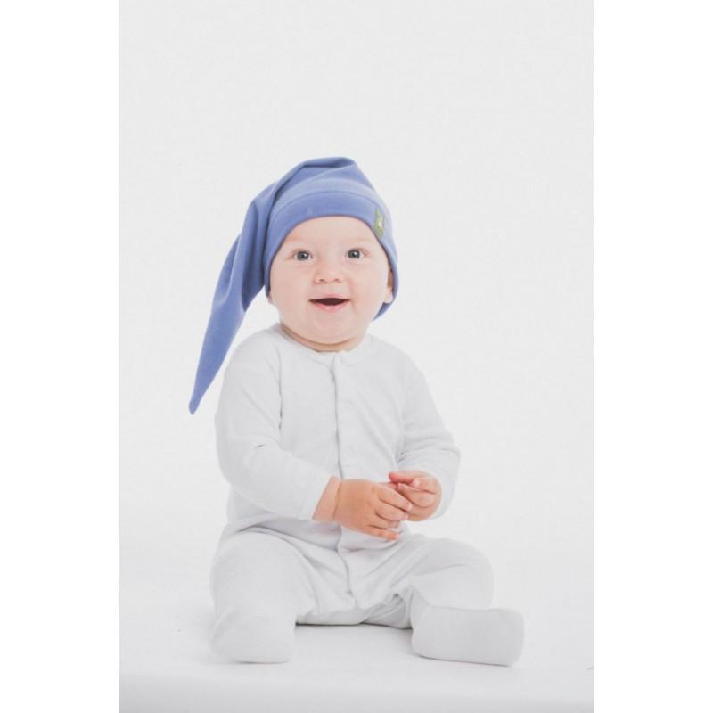Bonnet de lutin en coton - Coloris Lapis Lazuli - Lennylamb