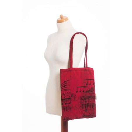 Sac Shopping Lennylamb - Little Herringbone Impression - 33cmx39cm