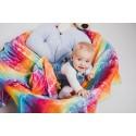 Pack de 2 Langes bébé - Dragonfly Rainbow et Under the Leaves - Lennylamb