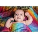 Carré de mousseline bébé - Symphony Rainbow Dark - Lennylamb