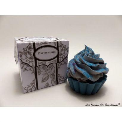 Savon Cupcake - Pour mon papa - Les Savons de Brocéliande