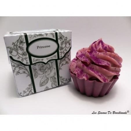 Savon Cupcake - Princesse - Les Savons de Brocéliande