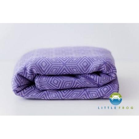Echarpe Little Frog - Lavender Cube