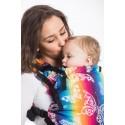 Porte bébé LennyUp - Butterfly Rainbow Light - Lennylamb