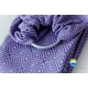 Sling Little Frog Jacquard - Lavender Cube