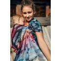 Sling Lennylamb Jacquard - Painted Feathers Rainbow Dark