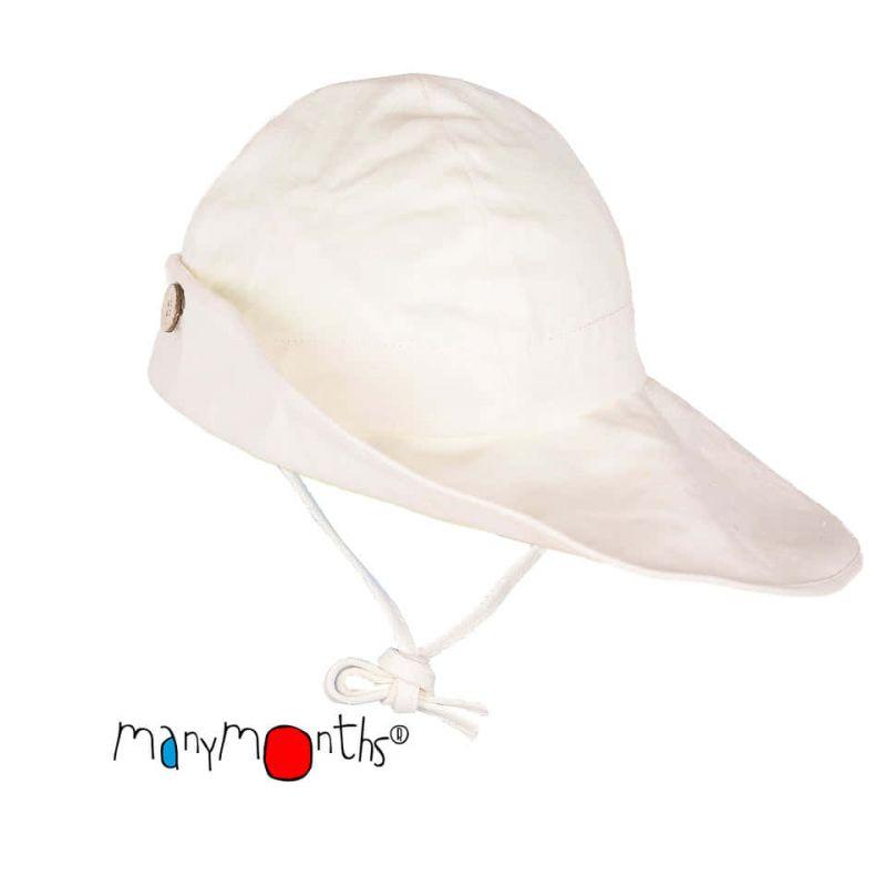ManyMonths Eco Adjustable Summer Hat - Natural - Coton/Chanvre