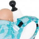 Protège bretelles Fidella -Siren -bleu- avec lin