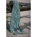 Echarpe Yaro - Magnetic Contra Pine Natural Seacell - 85% organic coton / 15% seacell