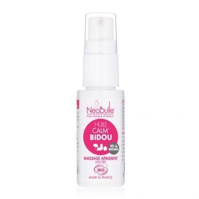 Calm'bidou, huile de massage - Néobulle