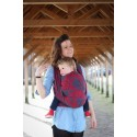 Sling Yaro - Ava Ultra Navy Red Bamboo Hemp - 40% coton / 30% natural bambou / 30% chanvre