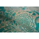 Sling Yaro - Chrys Puffy Aqua Natural Hemp - 75% coton / 25% chanvre