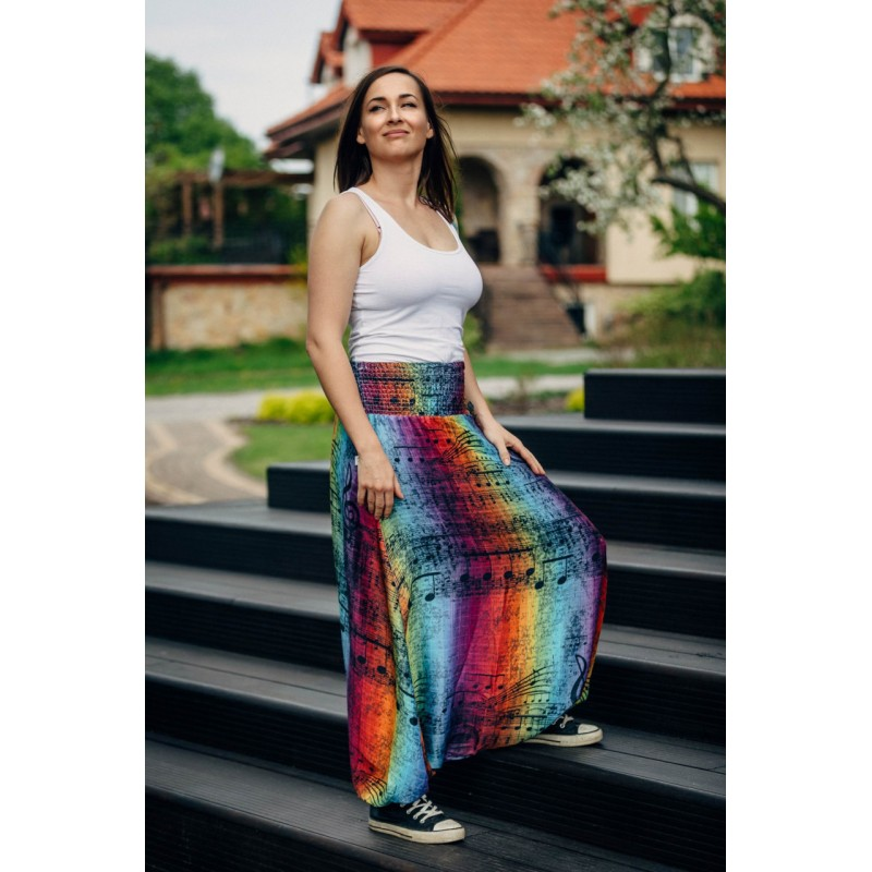 LennyAladdin Bamboo - Symphony Rainbow Dark - Lennylamb