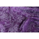Echarpe Yaro - Elvish Purple Silver Tencel Wool - 60% tencel / 40% laine