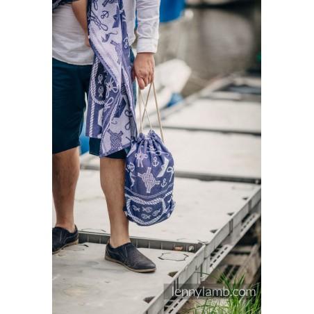 Sac à lanières Lennylamb - Sea Stories - 100% coton - 35cm x 45cm