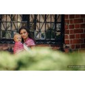 Sling Lennylamb Jacquard - Paisley Turquoise & Cream - 100% coton