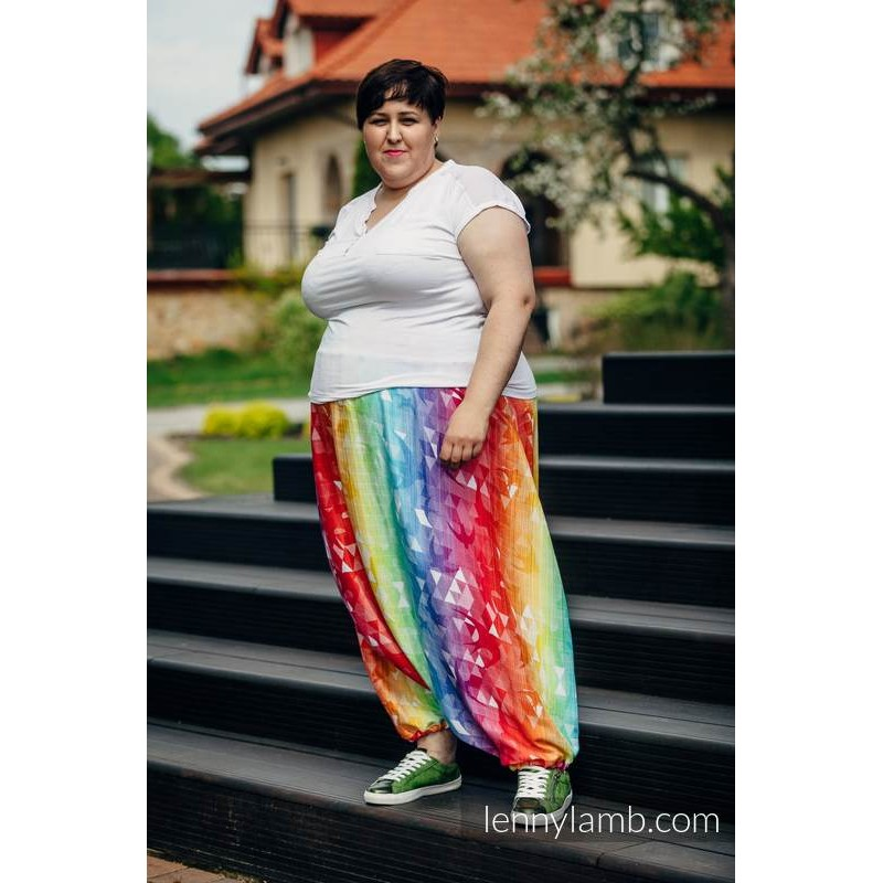 LennyAladdin Bamboo - Swallows Rainbow Light - Lennylamb