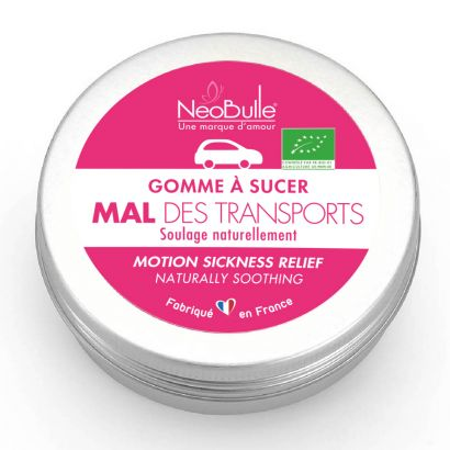 Gomme Mal des Transports - Néobulle