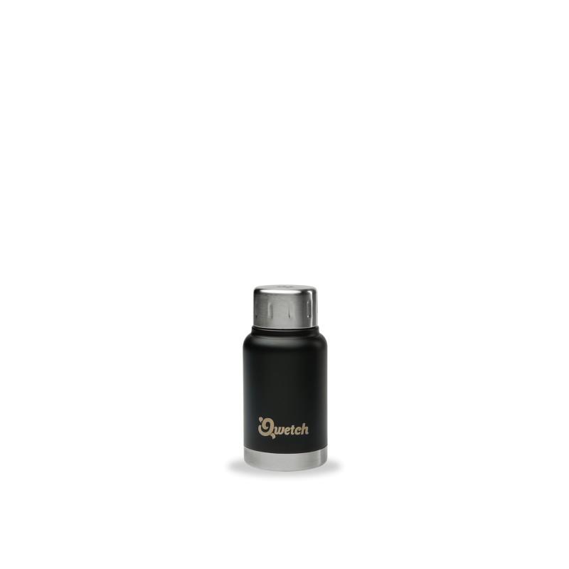 Mug Expresso isotherme Inox - Qwetch - Coloris Noir - 160ml