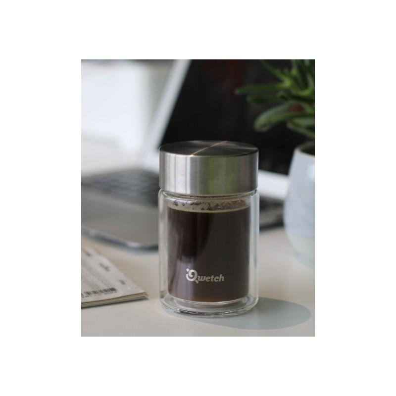 Mug Expresso en verre - Qwetch - 160ml