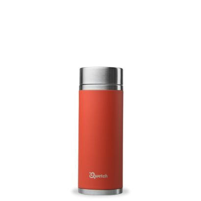 Théière Isotherme Rouge Corail - Qwetch - 300ml - 1