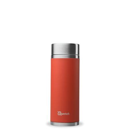 Théière Isotherme Rouge Corail - Qwetch - 300ml