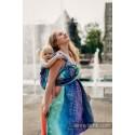 Echarpe Lennylamb - Rainbow Lace Dark (100% coton)