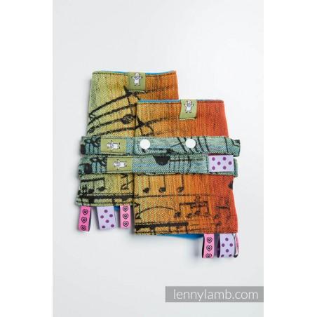 Drool Pads & Reach Straps Set - Lennylamb - Trinity